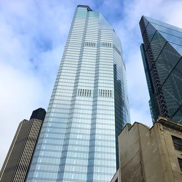22 Bishopsgate, building London